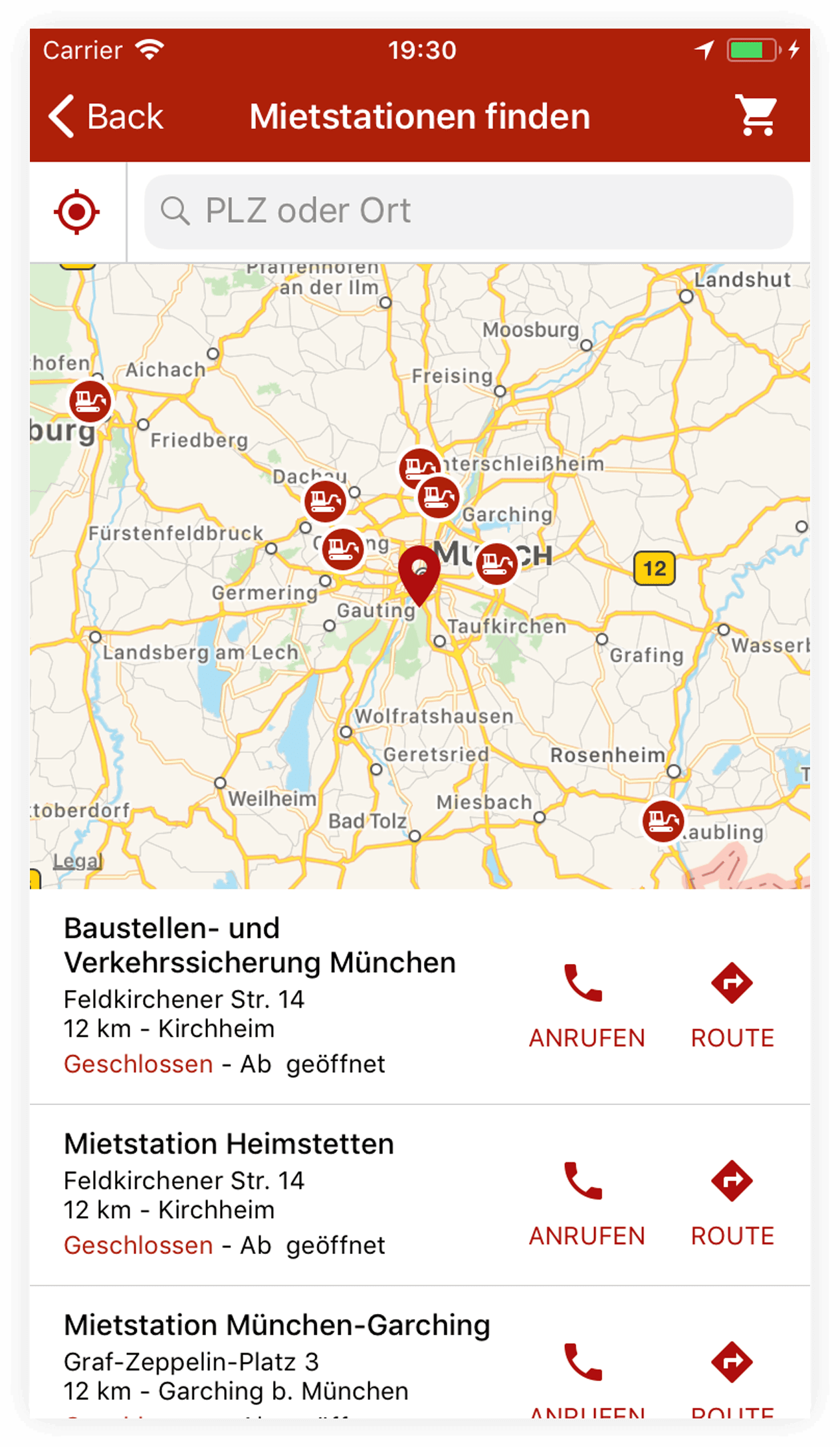 Zeppelin app iOS screenshot